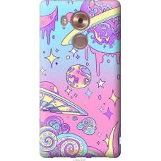 Чехол на Huawei Mate 8 'Розовый космос