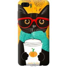 Чехол на Huawei Nova 2S Осенний кот