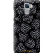 Чехол на Huawei Honor 7 Черная ежевика