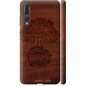 Чехол на Huawei P20 Pro Узор дерева