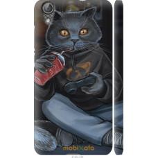 Чехол на Huawei Y6 II gamer cat