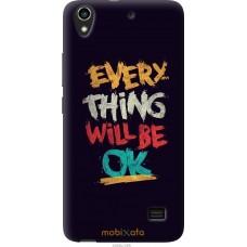 Чехол на Huawei G620S Everything will be Ok