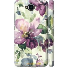 Чехол на Huawei Y6 Pro Акварель цветы