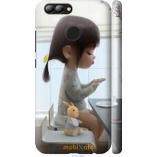 Чехол на Huawei Nova 2 Милая девочка с зайчиком