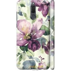 Чехол на Huawei Mate 10 Lite   Honor 9i Акварель цветы