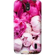 Чехол на Huawei Ascend Y625 Розовые цветы