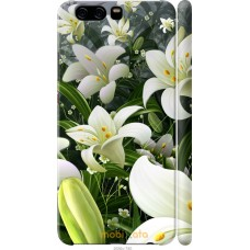 Чехол на Huawei P10 Лилии белые