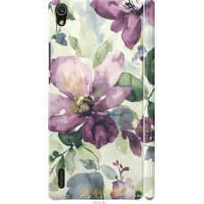 Чехол на Huawei Ascend P7 Акварель цветы