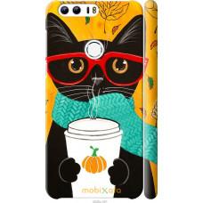 Чехол на Huawei Honor 8 Осенний кот