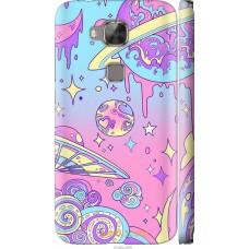 Чехол на Huawei G7 Plus 'Розовый космос