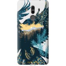 Чехол на Huawei Mate 10 Pro Арт-орел на фоне природы