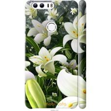 Чехол на Huawei Honor 8 Лилии белые