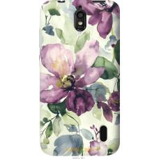 Чехол на Huawei Ascend Y625 Акварель цветы