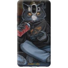 Чехол на Huawei Mate 9 gamer cat
