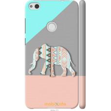 Чехол на Huawei P8 Lite (2017) Узорчатый слон