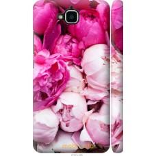Чехол на Huawei Y6 Pro Розовые цветы