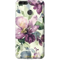 Чехол на Huawei Honor V9   Honor 8 Pro Акварель цветы
