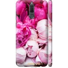 Чехол на Huawei Mate 10 Lite   Honor 9i Розовые цветы