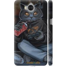 Чехол на Huawei Y5 2017 gamer cat