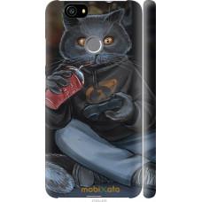 Чехол на Huawei Nova gamer cat