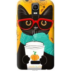 Чехол на Huawei Ascend Y3C Осенний кот