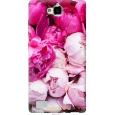 Чехол на Huawei Honor 3C Розовые цветы