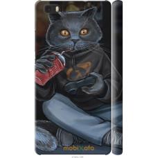 Чехол на Huawei Ascend P8 Lite gamer cat