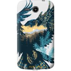 Чехол на Huawei Ascend Y600 Арт-орел на фоне природы