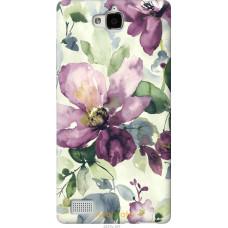 Чехол на Huawei Honor 3C Акварель цветы