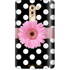 Чехол на Huawei Mate 9 Lite Цветочек горошек v2