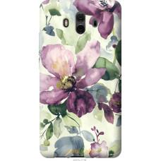 Чехол на Huawei Mate 10 Акварель цветы