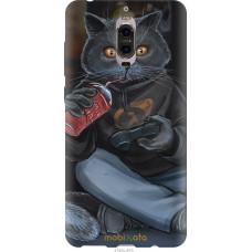 Чехол на Huawei Mate 9 Pro gamer cat