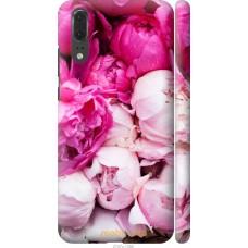 Чехол на Huawei P20 Розовые цветы