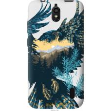 Чехол на Huawei Ascend Y625 Арт-орел на фоне природы