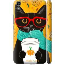 Чехол на Huawei Y6 Осенний кот