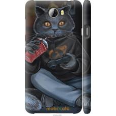 Чехол на Huawei Y5 II gamer cat