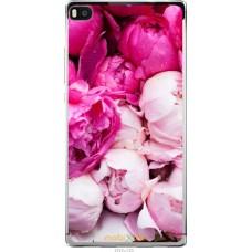 Чехол на Huawei Ascend P8 Розовые цветы