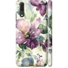Чехол на Huawei P20 Акварель цветы