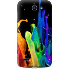 Чехол на Huawei G730 брызги краски
