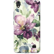 Чехол на Huawei G620S Акварель цветы