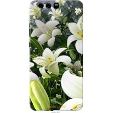 Чехол на Huawei P10 Plus Лилии белые