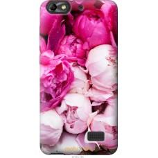 Чехол на Huawei Honor 4C Розовые цветы