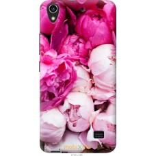 Чехол на Huawei G620S Розовые цветы