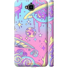 Чехол на Huawei Enjoy 5 'Розовый космос