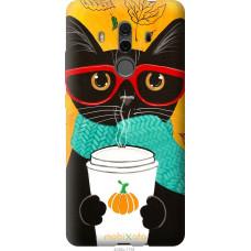 Чехол на Huawei Mate 10 Pro Осенний кот