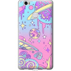 Чехол на Huawei Honor Note 8 'Розовый космос