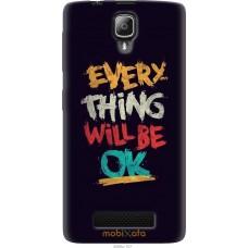 Чехол на Lenovo A1000 Everything will be Ok