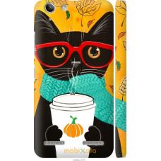 Чехол на Lenovo K5 Plus Осенний кот