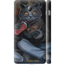 Чехол на Lenovo Vibe P1 gamer cat