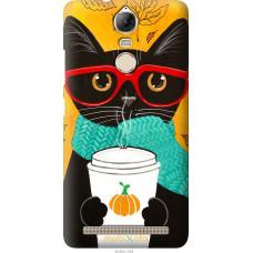 Чехол на Lenovo Vibe K5 Note Pro Осенний кот
